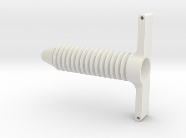 Circular Rack in White Strong & Flexible