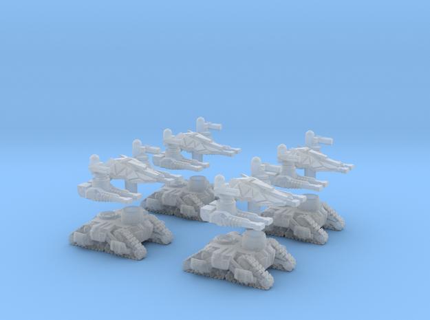 MOD S  Mini Drone Oblitorators  Squad Of 4 in Smoothest Fine Detail Plastic
