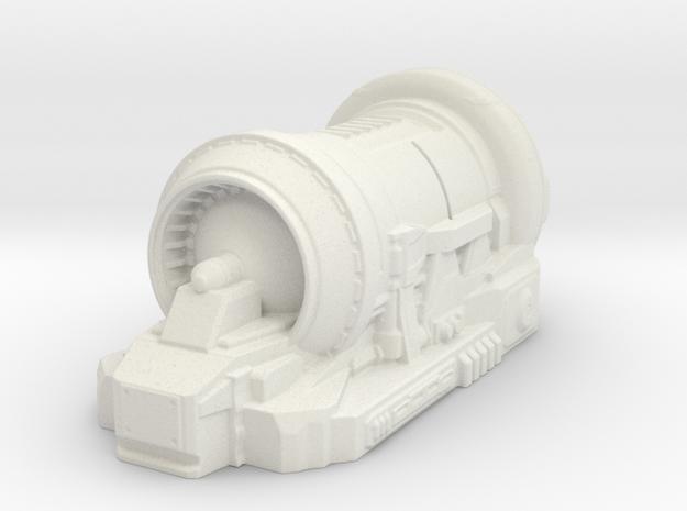 sci fi generator - tabletop size in White Natural Versatile Plastic