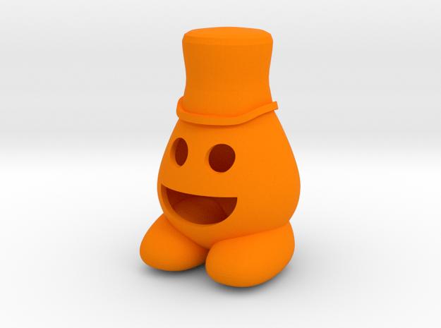 Eggy in Orange Strong & Flexible Polished