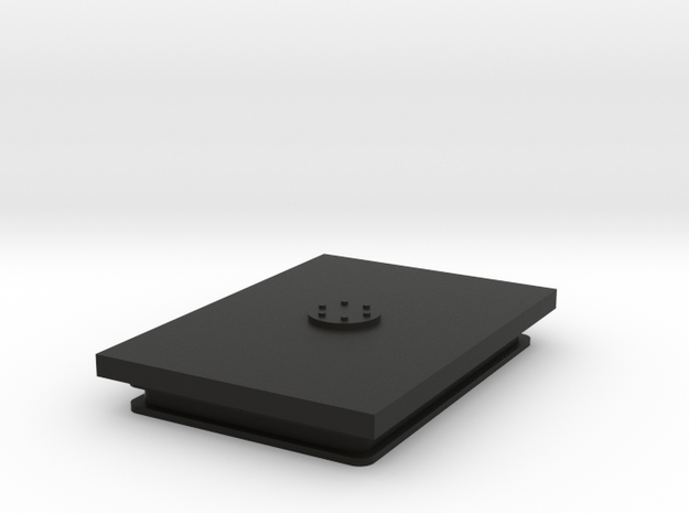 JeepTj Custom Kit - Receiver box Cup in Black Natural Versatile Plastic