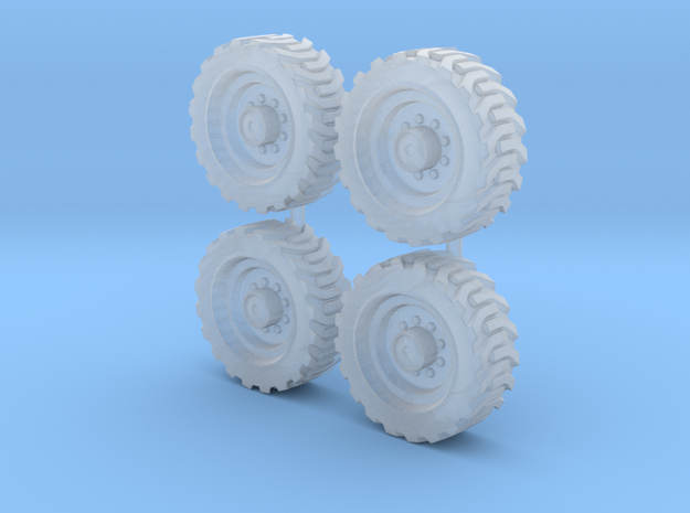 Tractor wheels  01. HO scale(1:87)