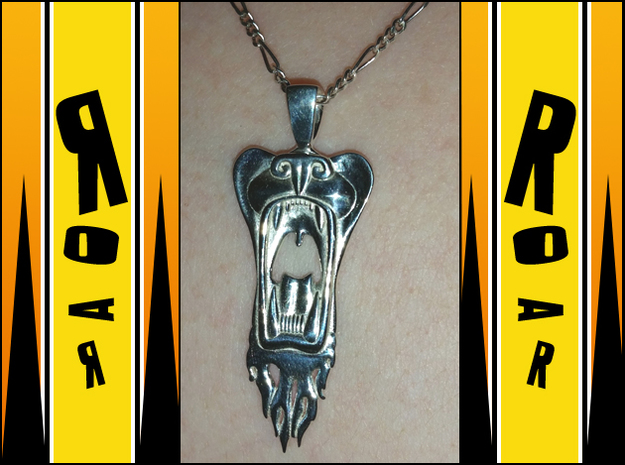 Roar! in Polished Silver
