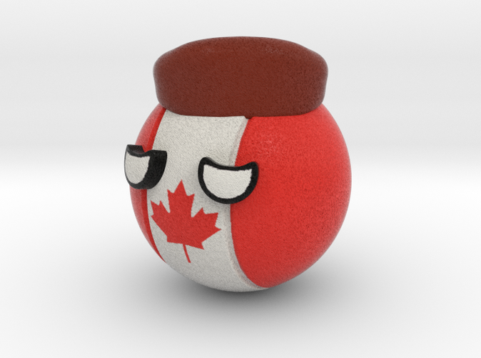 Countryballs Canada - Full Color Sandstone
