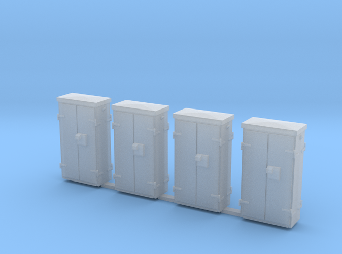 Shapeways render in Frosted Detail