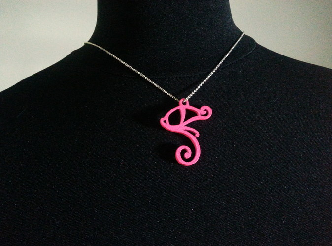 This pendant is painted by me and the color may vary if you order the pink colored pendant.