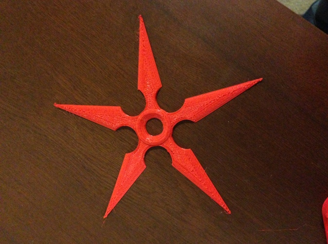 A simple FDM print done on an Ultimaker to show how it is printable and what it would look like. This is PLA.