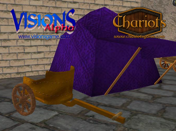 Riveted Bronze Chariot - screenshot from Visions alpha
