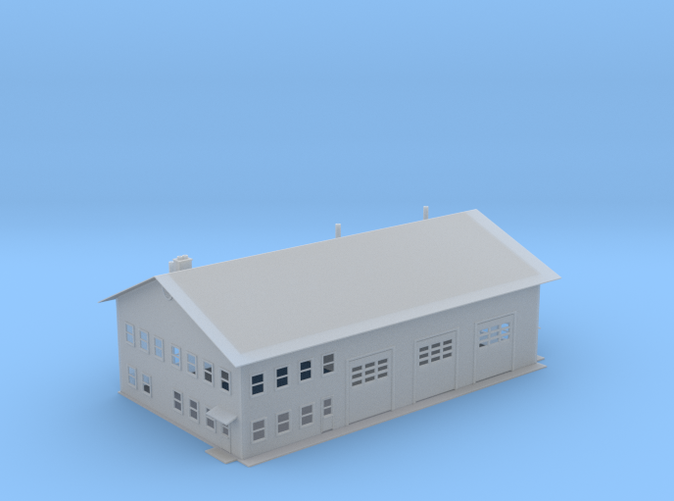 Fire Station Z scale