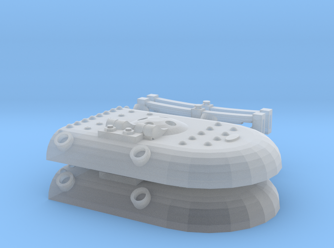 Shapeway's render of kit content