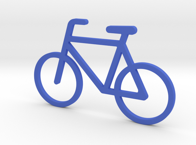 Pendant little bicycle jrt3eecut by fantasticforms bicycle pendant aloadofball Image collections