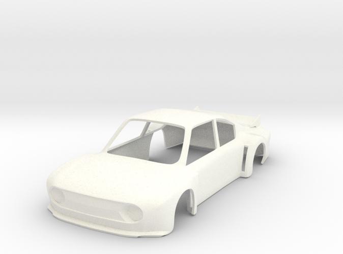 Skoda 130RS Super Saloon race car slot body - 1:32