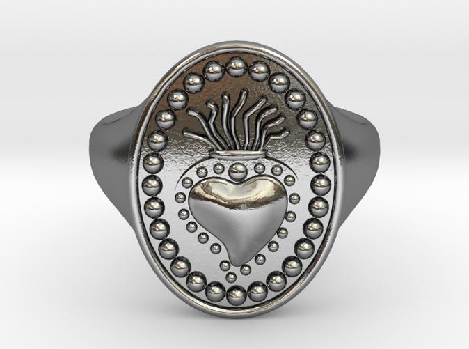 DANTE Ring in 925 sterling silver