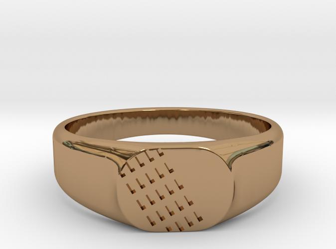 FAUNO Ring in Brass