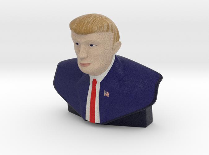 """""""The Donald"""" Trump  Statue"""