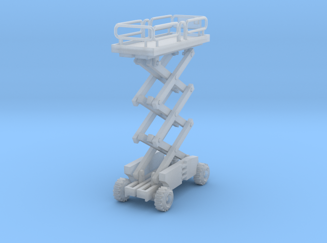 one Scissor Lift Z scale