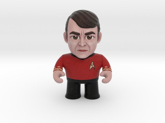 Scotty Star Trek Caricature