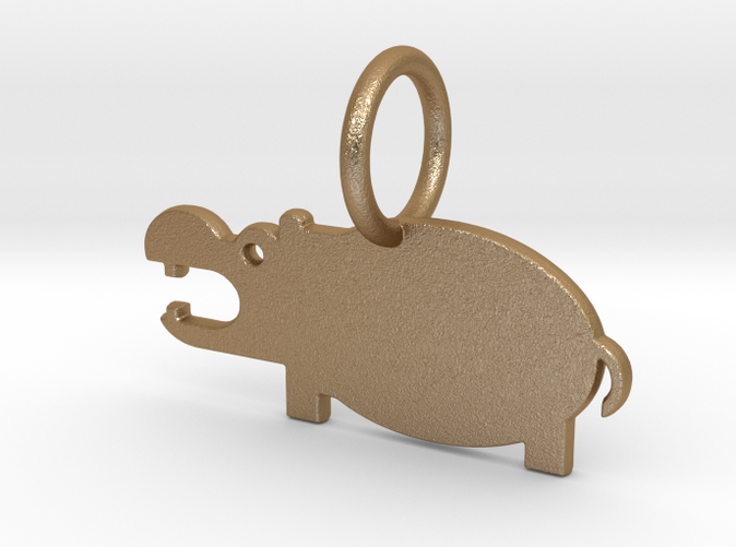 Hippopotamus Keychain (different materials have different prices)