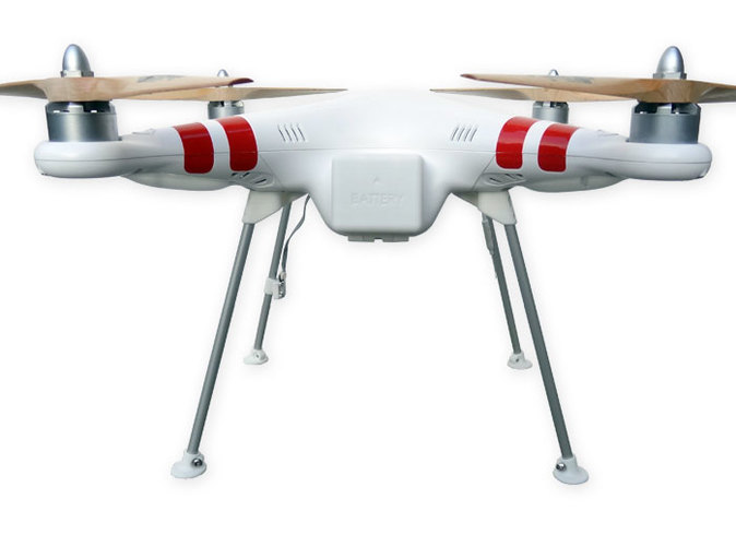 DJI Phantom Wide Landing Gear overview