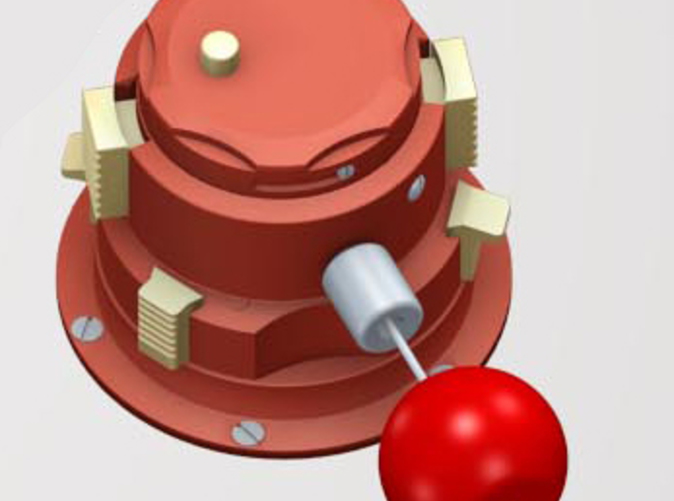 Entire Red Apple Plug shown, This is just the base plug.