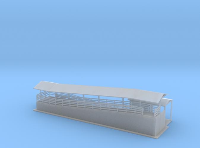 Boarding Station Z scale