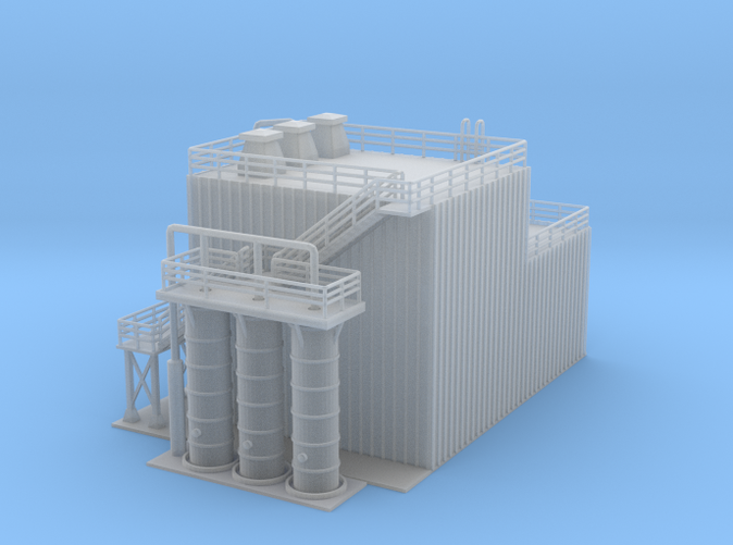 Ethanol Processing Facility Z scale