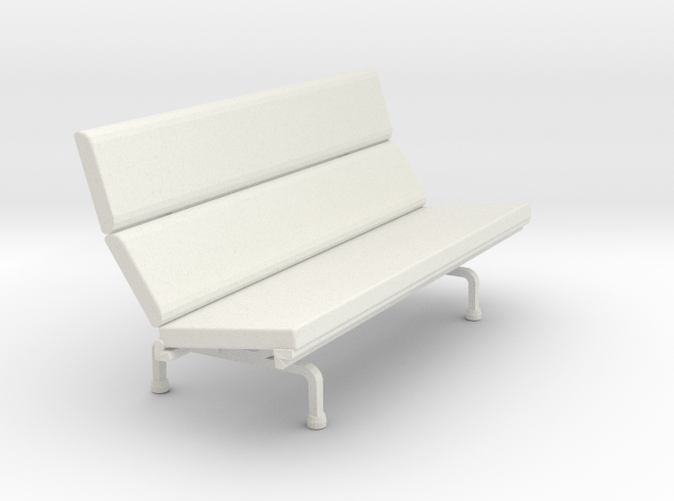 Eames Compact Sofa - Charles & Ray Eames