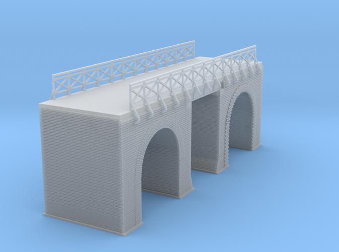European Arched Bridge Z scale