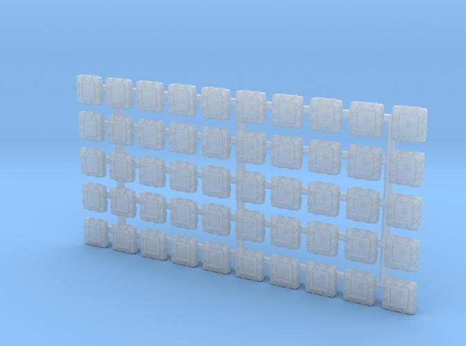 1/350 Scale Denton Rafts x50
