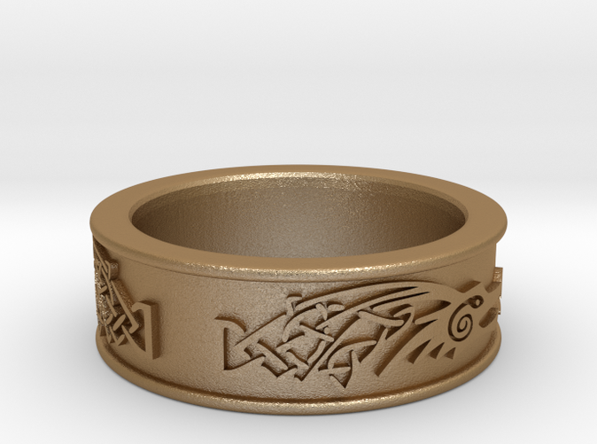 Skyrim ring Dragonborn KXRNLYEVH by NovastarDesign