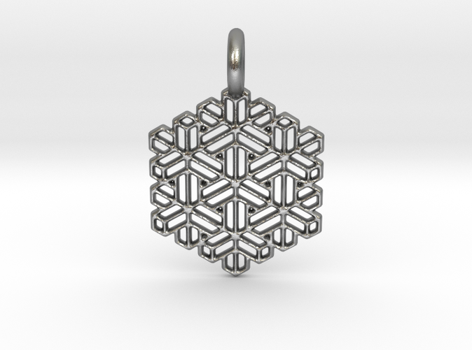 Snow Crystal in silver is spectacular.