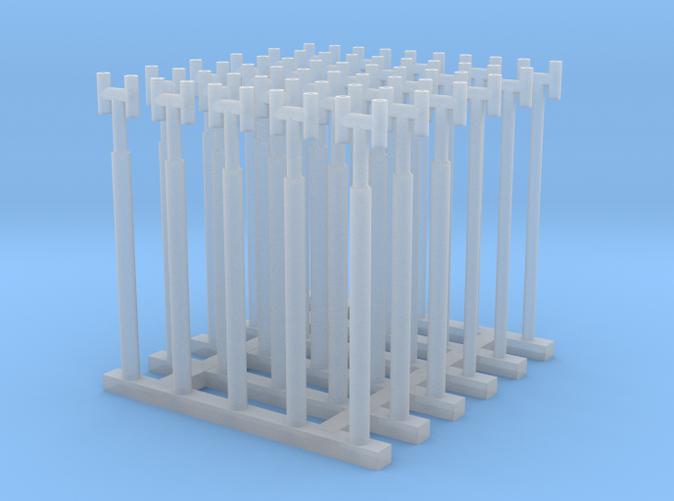 1/144 Fairmile Stove Pipes (H Shape) x30