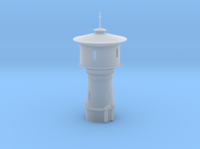 Water Tower UK Z scale