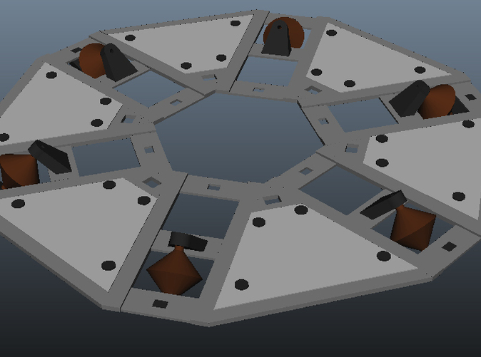 Center disk assembly