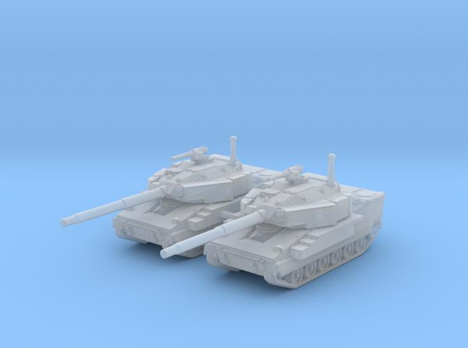 1/285 (6mm) US M8 Buford Light Tank x2
