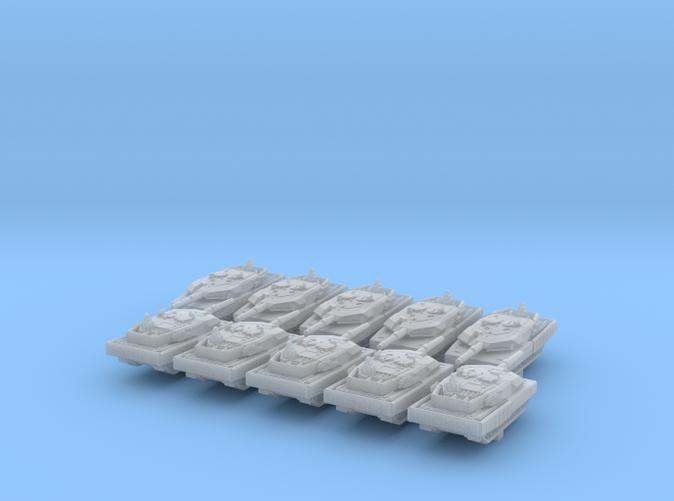 1/600 German Leopard 2 Main Battle Tank x10