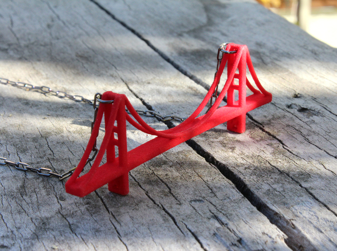 Golden Gate Bridge Pendant