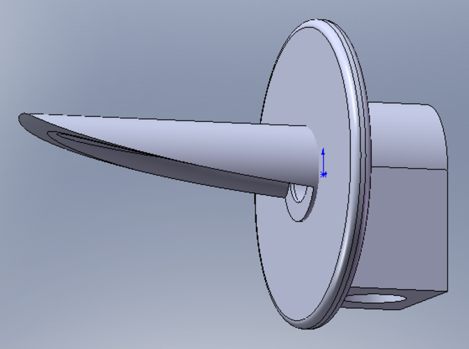 Image of the Solidworks model