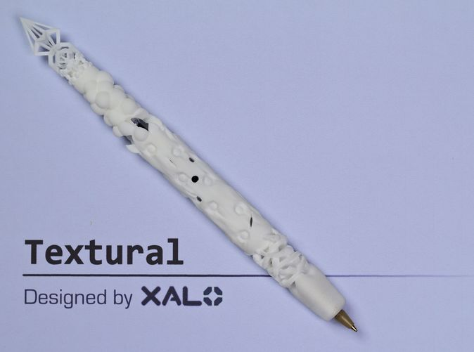 Textural, my second 3D printed pen