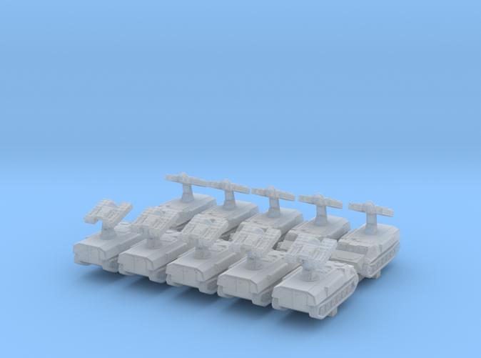 1/700 Russian 9K35 Strela-10 (SA-13 Gopher)SAM x10