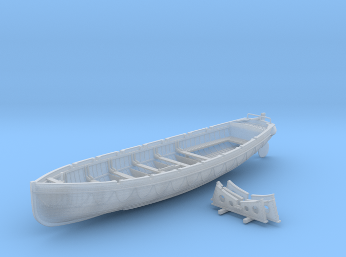 1/72 Scale Royal Navy 32ft Cutter x1