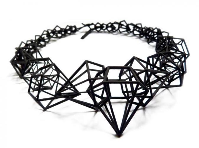 stereodiamond necklace  92934f6m9  by geraldesign