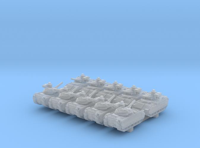 1/600 US M2A3 Bradley APC 20º Barrel x10