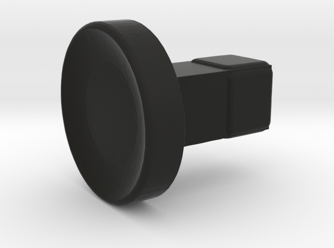 Render of the 3D printed 5D button