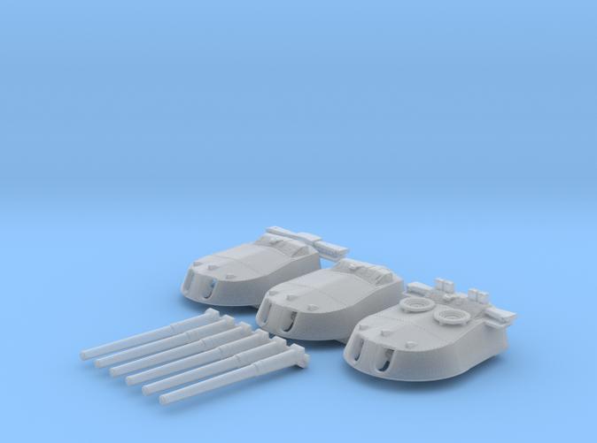 1/600 MKI* HMS Repulse Guns 1941
