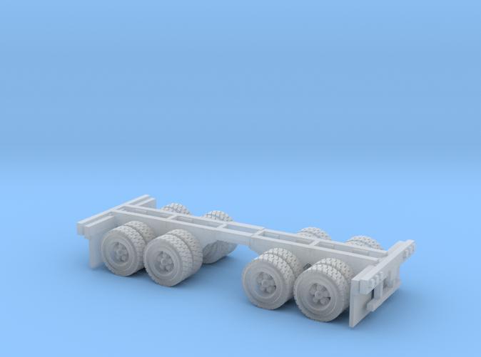 2 duel wheels Z scale