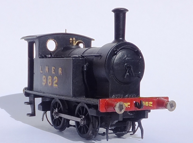 Finished Loco - Natural Light. Not bad for 4mm/ft