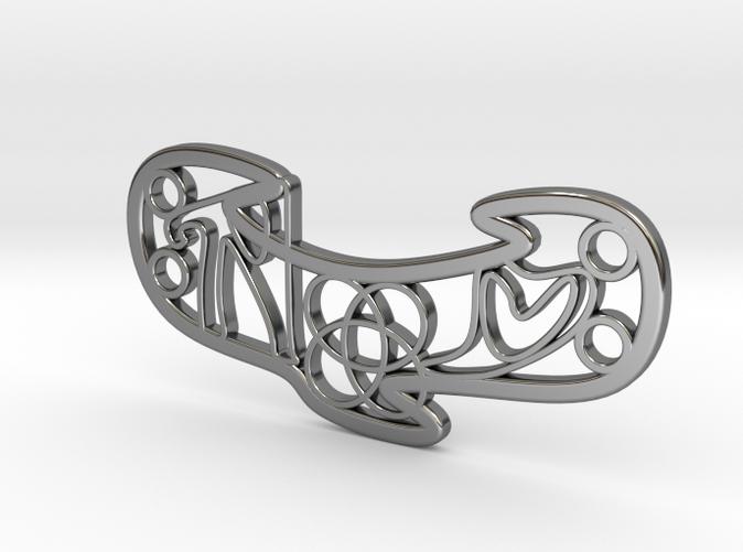 Personalised Celtic Knot Love Bracelet
