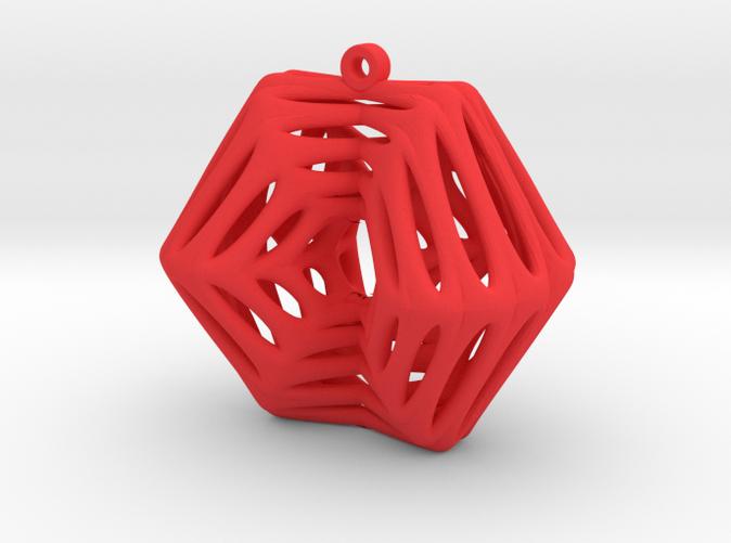 Voronoi Klein Earring (002)