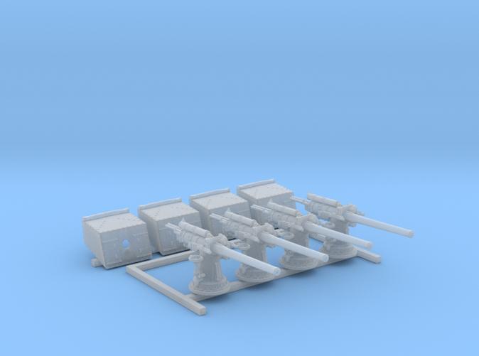 """1/192 V&W Class 4""""/45 MKV CPII Gun Sight Closed x4"""